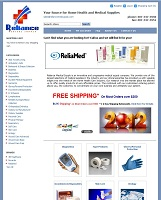 RelianceMedSupply.com Screenshot